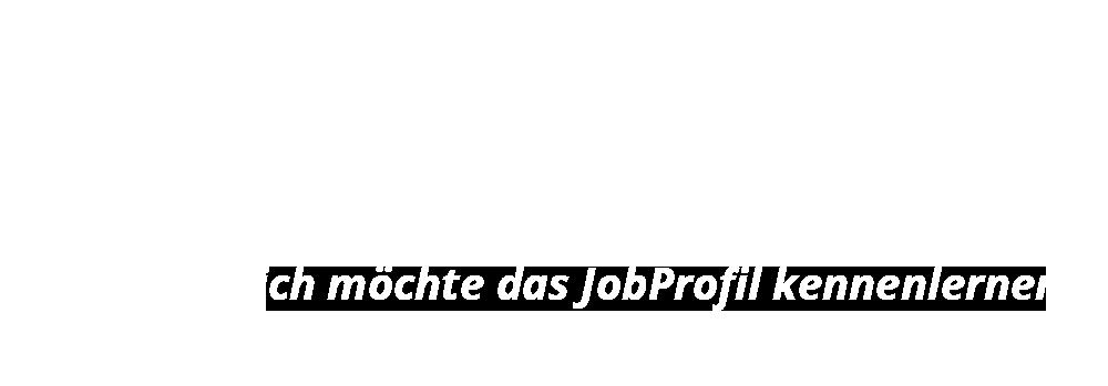 Ja, ich möchte das Jobprofil kennenlernen