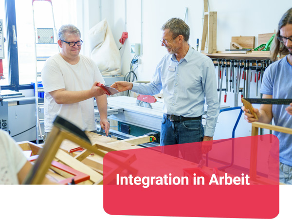 Integration in Arbeit