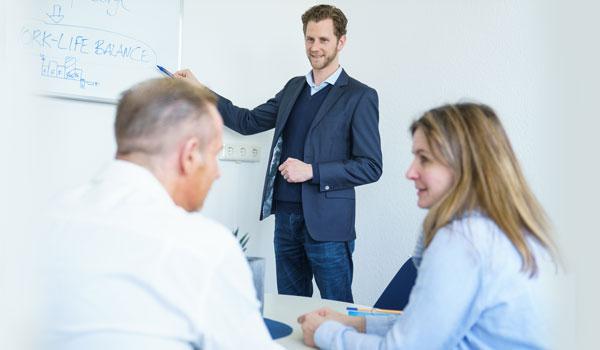 Beratung und Coaching